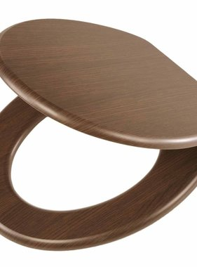 Tiger Soft-close toiletbril Douglas MDF lichtbruin 251675346