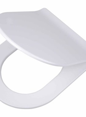 Tiger Soft-close toiletbril Carter Duroplast wit 250020646