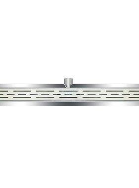 L'Aqua Doucheputje klassiek lineair 90 cm roestvrij staal