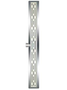 L'Aqua Doucheputje klassiek lineair 80 cm roestvrij staal