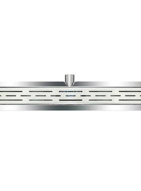 L'Aqua Doucheputje klassiek lineair 70 cm roestvrij staal