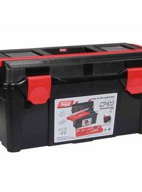 Tayg Gereedschapskist 58x28,5x29 cm zwart en rood TG34