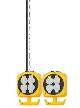 Brennenstuhl Werkplaats energieblok met 8 stopcontacten 5 m 1151760