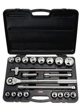 "KS Tools ratel dopbit set (3/4"" 21 stuks)"