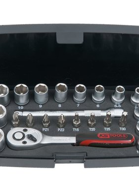 KS Tools doppendoos set (23 stuks 1/4-Inch)