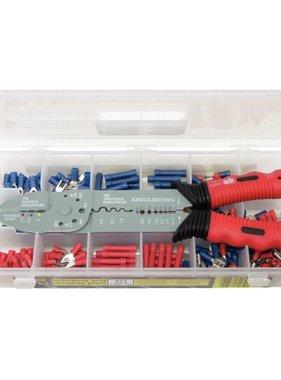 KS Tools draadkniptang en krimptang set