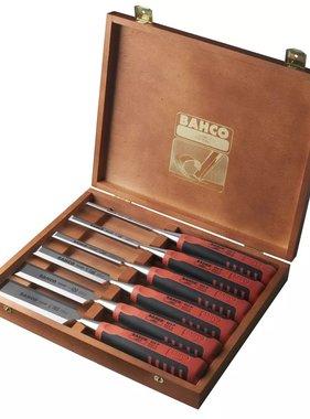 BAHCO Beitelset in houten doos 6-delig 424P-S6-EUR