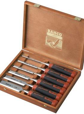 BAHCO Beitelset in houten doos 6-delig 434-S6-EUR