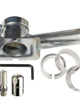 Irwin Voegenfreesstartset 10 mm 1x bodemplaat 2x 3 snijders 10507268