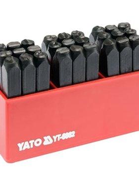 YATO Letterstempels 6 mm 27 st