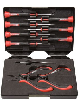 KS Tools gereedschapset  Phillips  + schroevendraaiers + tangen (10 x)