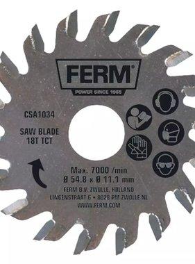 FERM precisie zaagblad 18T TCT CSA1034