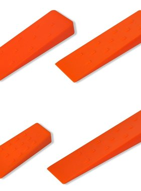vidaXL Velwig van hoge kwaliteit 14 cm/ 20 cm/ 25 cm/ 30 cm (4 stuks)