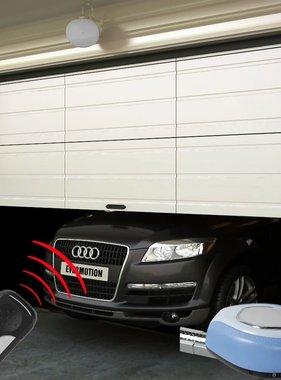 vidaXL Elektrische garagedeur + afstandsbedieningen