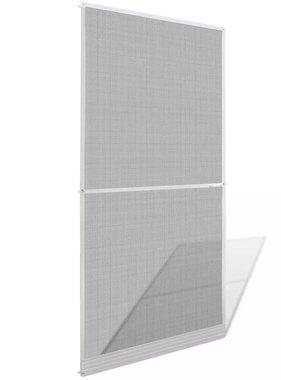 vidaXL Hordeur met scharnieren 100x215 cm wit