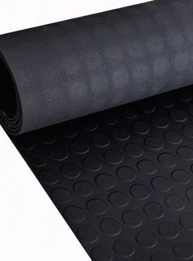 vidaXL Rubberen anti-slip vloermat 2x1m stippen