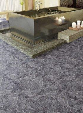 vidaXL Stenen mozaïek tegels zwart marmer 0,9 m2