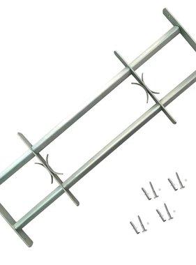vidaXL Raambeveiliging verstelbaar met 2 dwarsbalken 700-1050 mm