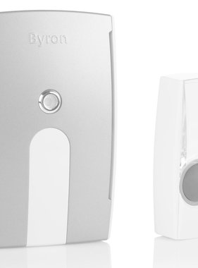 Byron Draadloze plug-in deurbelset BY514E 125 m 10.007.88