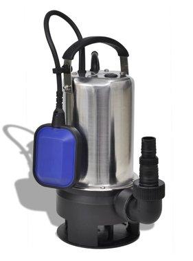 vidaXL Elektrische afvalwater tuinpomp 1100 Watt