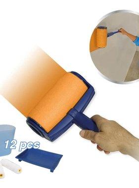 Orange Donkey Orange Donker Verfrollerset blauw REA001