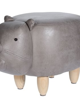 Home&Styling Home&Styling Kruk neushoorn-vorm 64x35 cm