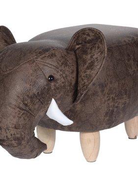 Home&Styling Home&Styling Kruk olifant-vorm 64x35 cm