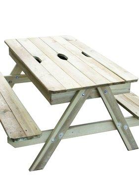 TRIGANO Kinderpicknicktafel Picsand 100x97x57 cm J-JOU054