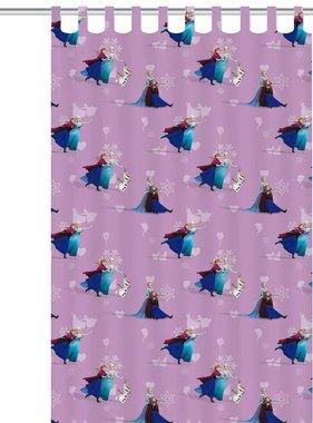 Disney Kindergordijn Frozen Elsa paars 250x140 cm ASSO234004