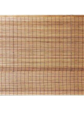 vidaXL Bamboe Zonnewering Romeinse Stijl 80x160 cm (bxh)