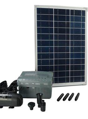 Ubbink Solarmax 1000 set met zonnepaneel, pomp en batterij 1351182