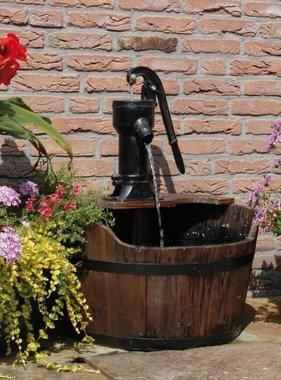 Ubbink Waterornament Houten Ton