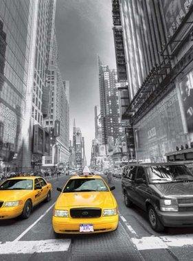 AG Design Fotobehang Yellow Cab FTS1310