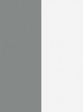 DUTCH WALLCOVERINGS Behang strepen grijs en wit 7358-0