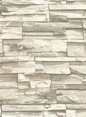 RoomMates Plakbehang natuursteen beige RMK9026WP