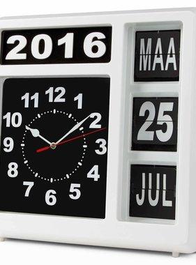 Velleman Wand-flipklok met kalender WCF1NL
