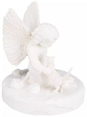 TRIXIE Gedenksteen kat met engel wit 38419