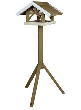 TRIXIE Vogelvoederhuisje staand Natura 45x28x44 cm bruin 55802