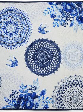 HIP Dekentje 6099-H Grande 130x160 cm blauw