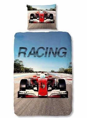 Good Morning Dekbedovertrek 5732-P Racing 140x200/220 cm meerkleurig