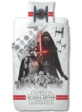 Disney Kinderdekbedovertrek Star Wars wit 200x140 cm DEKB930119