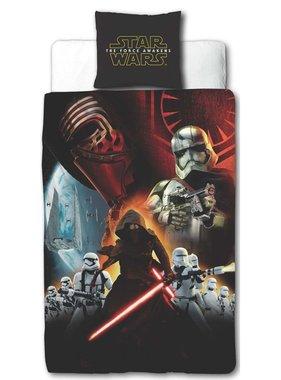 Disney Kinderdekbedovertrek Star Wars zwart 200x140 cm DEKB930118