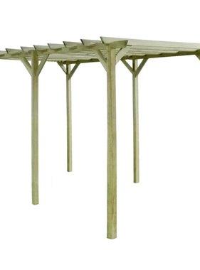 vidaXL Pergola 4x2x2 m FSC geïmpregneerd grenenhout