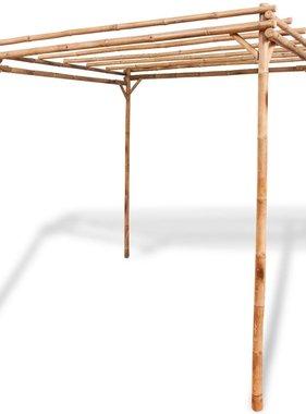vidaXL Pergola bamboe 195x195x195 cm
