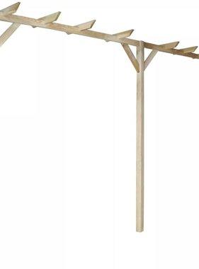 vidaXL Tuinpergola 400x40x205 cm FSC Hout