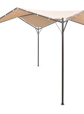 vidaXL Prieel 3x3 m staal beige