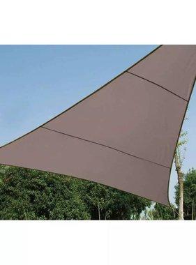 Perel Schaduwdoek Driehoek 3,6 x 3,6 x 3,6 m Taupe