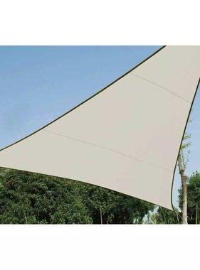Perel Schaduwdoek Driehoek 3,6x3,6x3,6 Cream