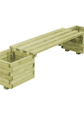 vidaXL Plantenbank FSC geïmpregneerd grenenhout