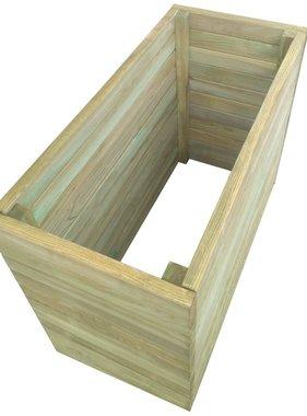vidaXL Plantenbak 100x50x77 cm FSC geïmpregneerd grenenhout